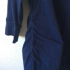 Dark Blue 3/4 sleeve Maternity Tunic